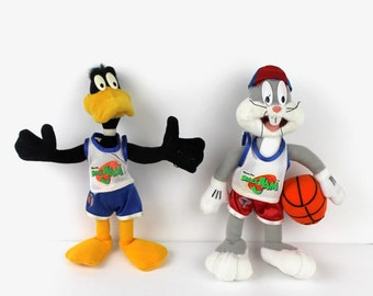 Playmates 1996 SPACE JAM BASKETBALL Tune Squad Daffy Duck Figurine /& accessoires