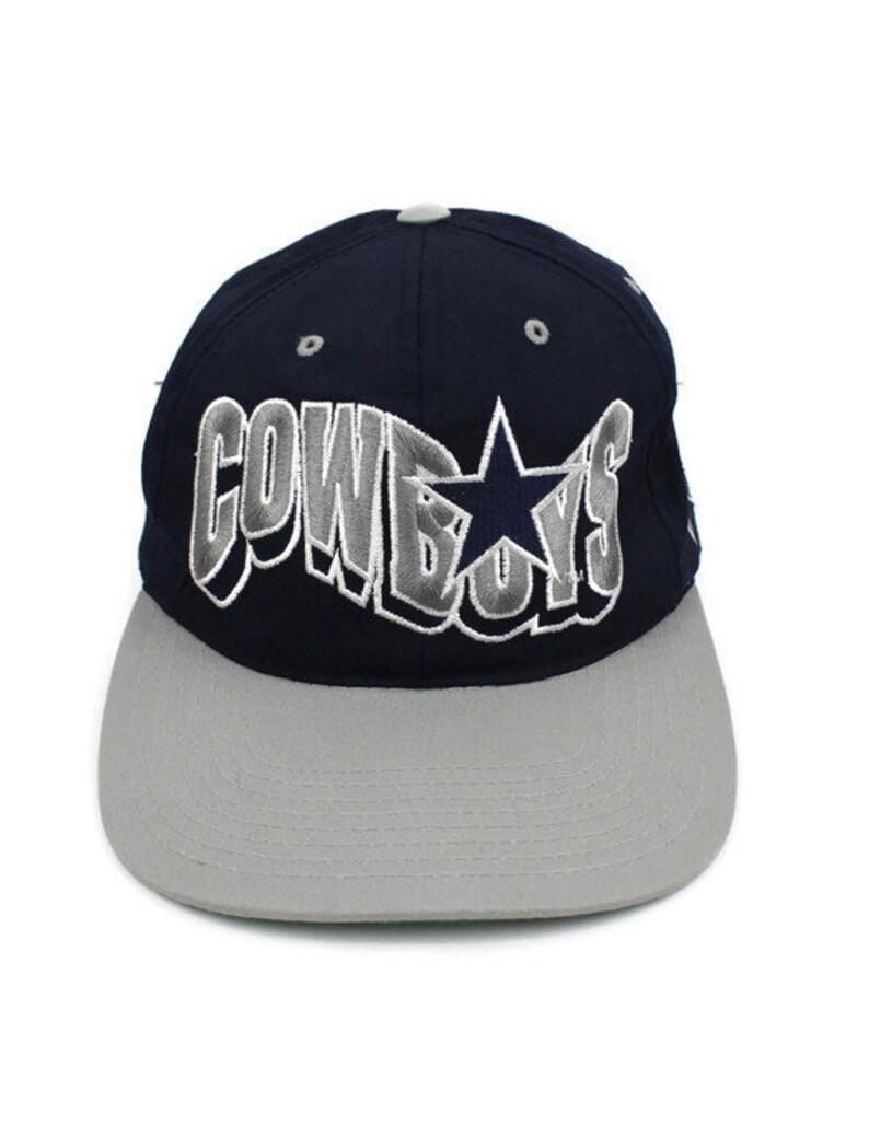0c172f75064d3 90s Vintage COWBOYS Hat Dallas Cowboys Snap Back Hat Cowboys   Etsy