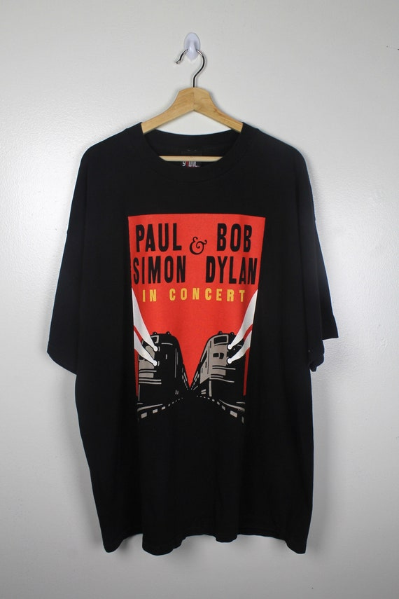 90s Vintage Paul Simon & Bob Dylan Tour T-Shirt 19