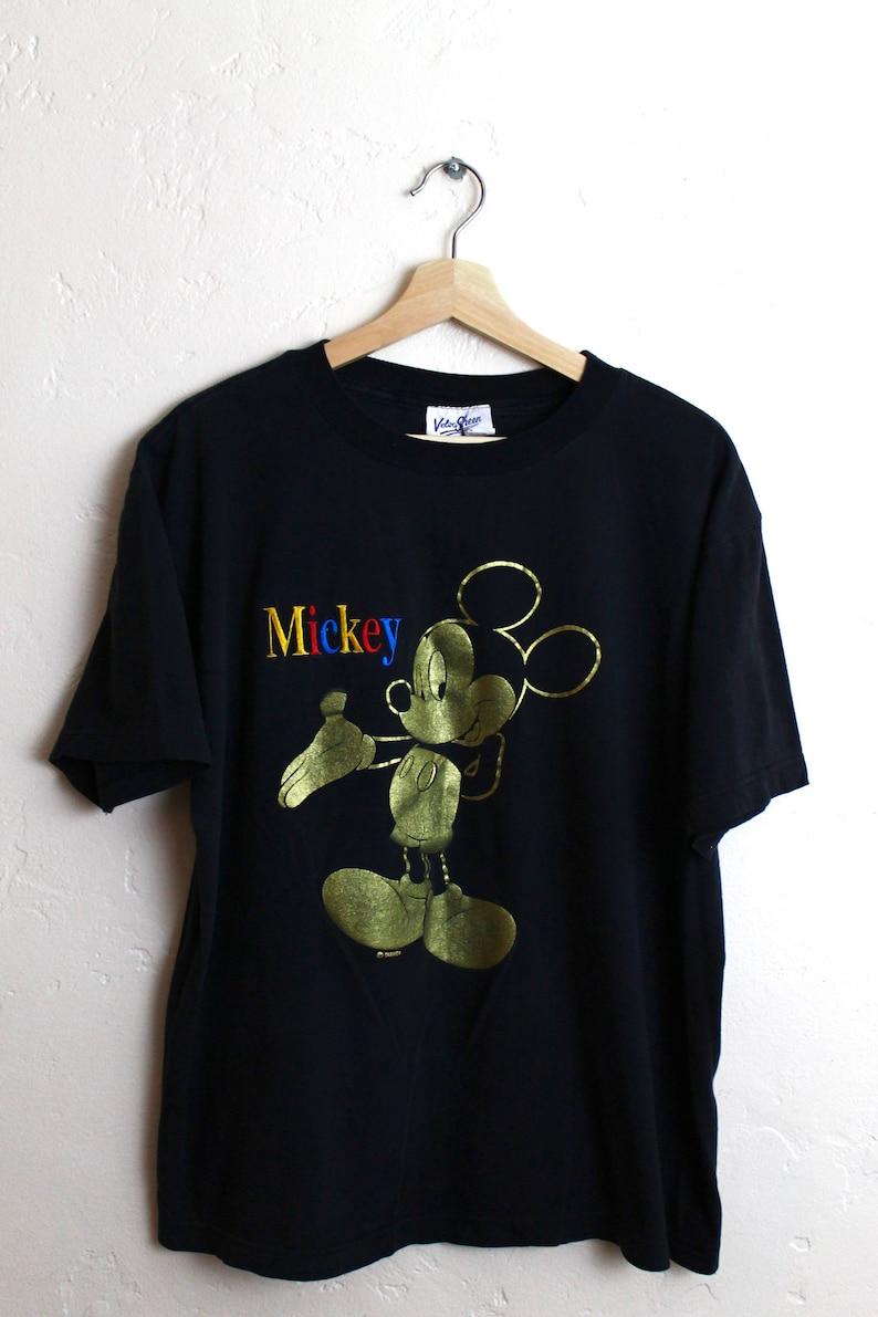 6569af73457 90s Vintage Mickey Mouse T-Shirt Vintage Disney T-Shirt