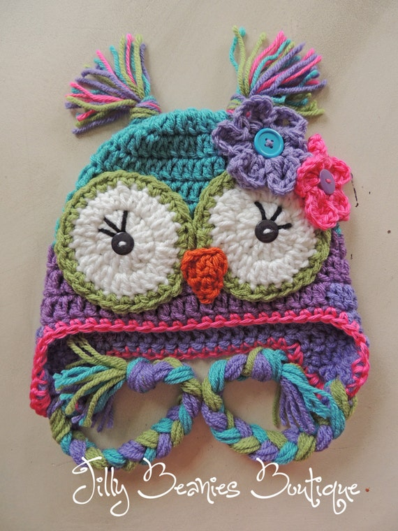 Girl Owl Hat Owl Hat Baby Owl Hat Kids Hat Children Hat  918c9bbc8505