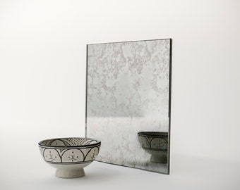 MirrorCoop Belgian Antiqued Mirror. Hand made glass that is perfect for custom projects. LA based custom glass.