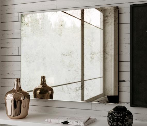 48 x 60 mirror image custom 48 60 belgian style antiqued mirror etsy
