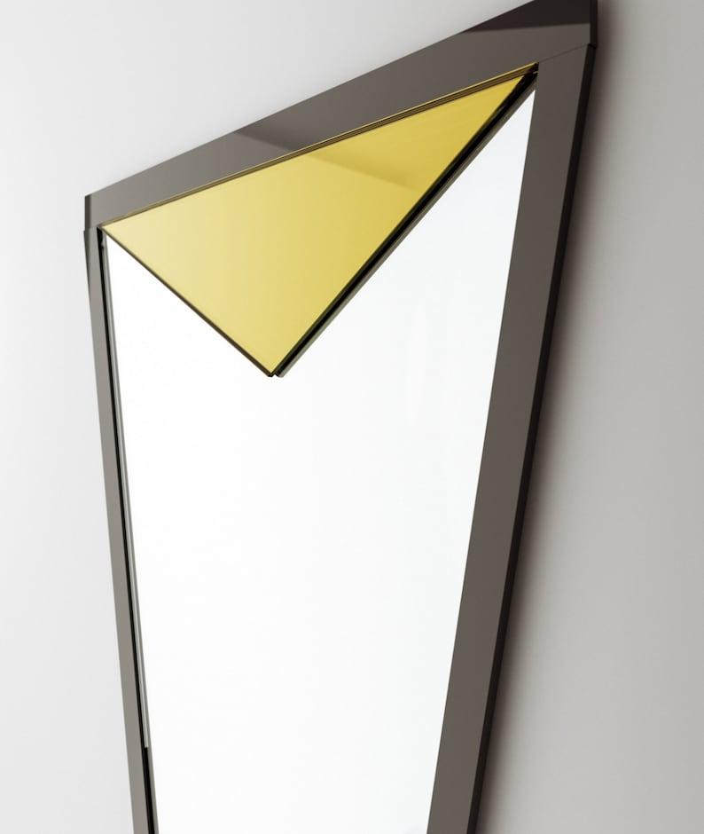 Espejos Espejo En El Marco Francia Suiza Um 1920 Arte Y Antigüedades