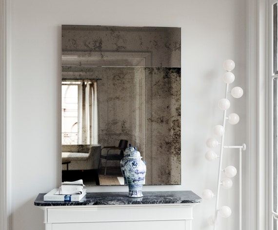 Antique Mirror Trumeau Style Wall, What Is Antique Mirror