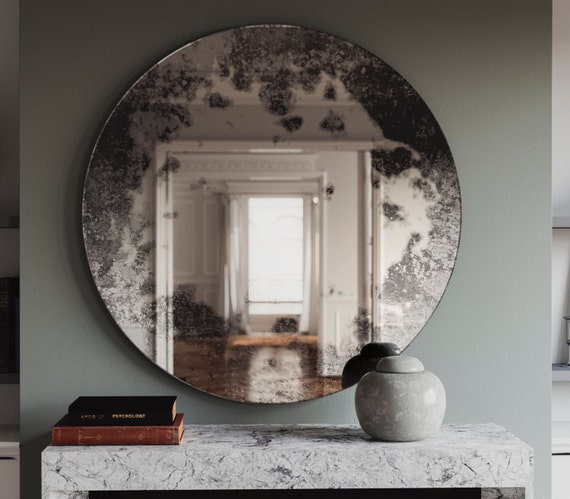 Antique Mirror With Cloudy Pattern, What Is Antique Mirror