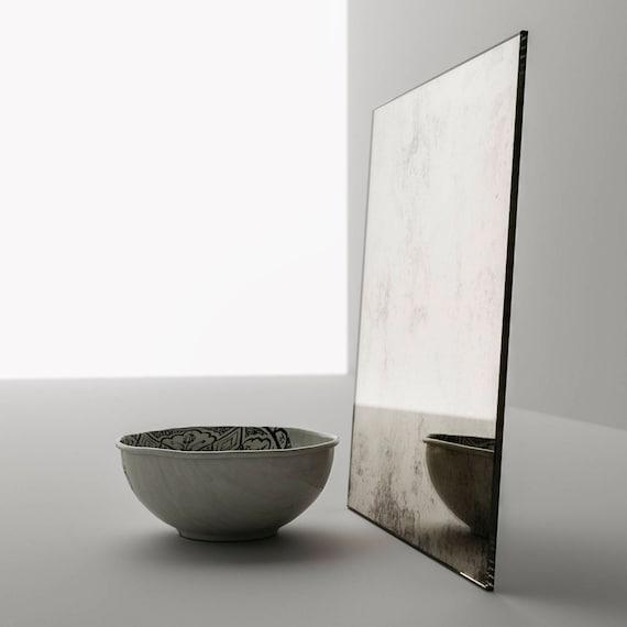 40 X 60 Framed Antiqued Mirror Square, Framed Mirror 40 X 60
