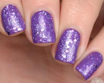 Meet me at the Purple Wall - Artisan 5-free Vegan Nail Polish