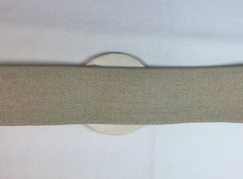 Ladies Belt Large Ceramic clasp shades of brown /& pink Tan elastic belt Free shipping.
