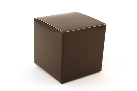 Black Favor Box Small Favor Boxes 3x3x3 Black Wedding Favor Etsy