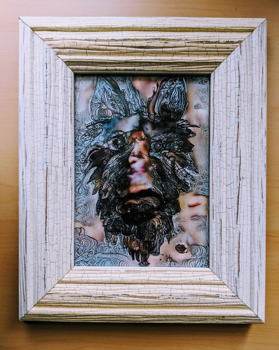 Art Print Of Toto From The Wizard Of Oz In Frame Etsy