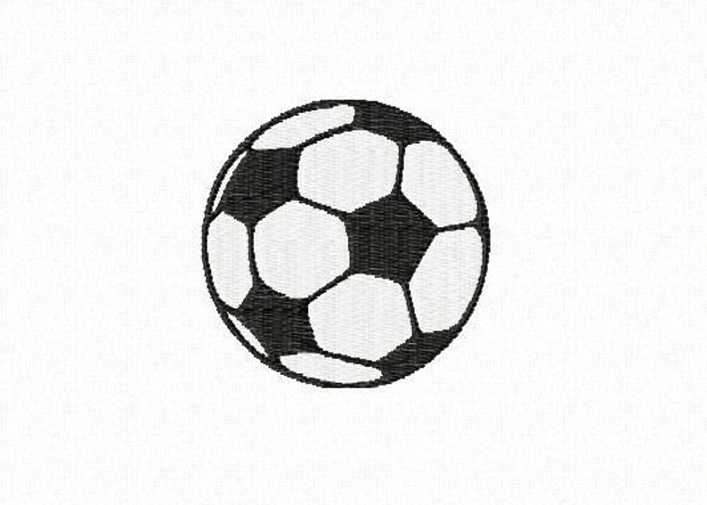 Embroidery pattern  Soccer ball image 0