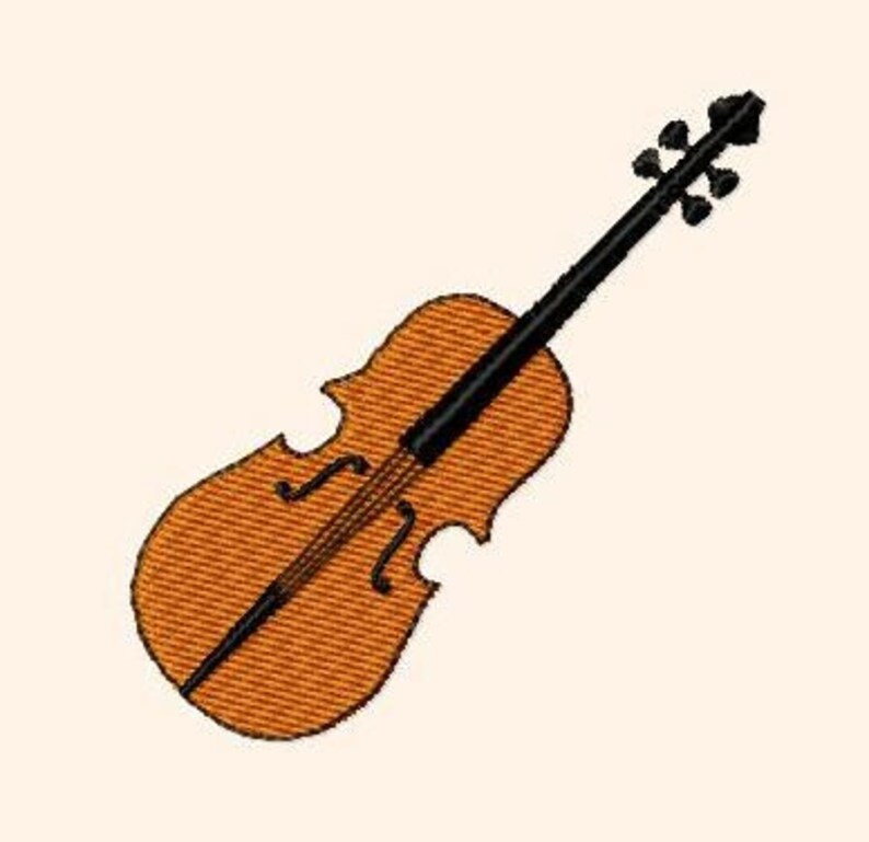 Embroidery pattern  violin image 0