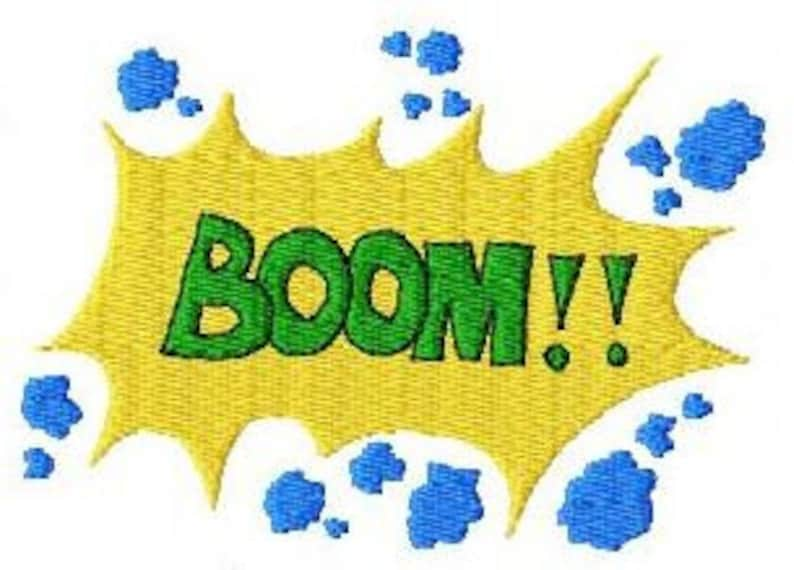 Embroidery pattern  Boom image 0
