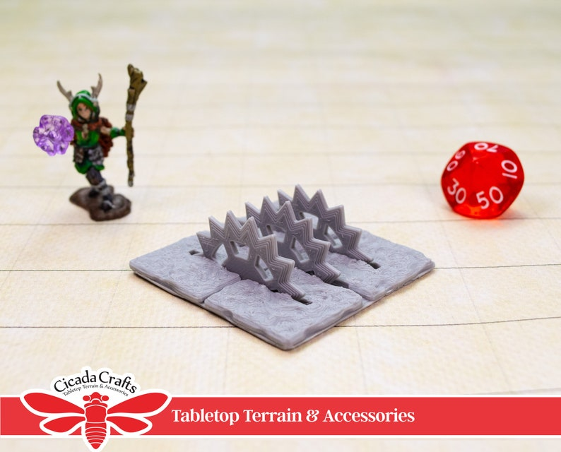 Trap Saw Floor Unpainted  Tabletop Gaming Miniatures for image 0