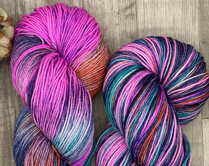 Featured listing image: Italian Toes - Merino/Nylon - MYSTERY, Sock Yarn, Fingering Weight