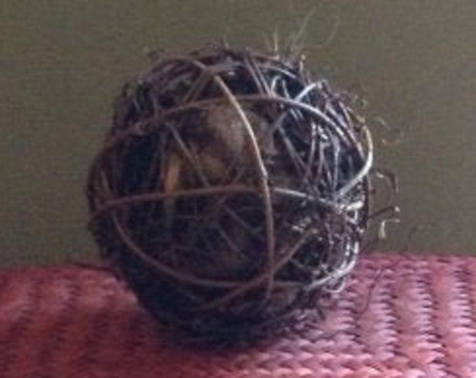 "Featured listing image: Alpaca Fiber Nesting Ball (4"")"