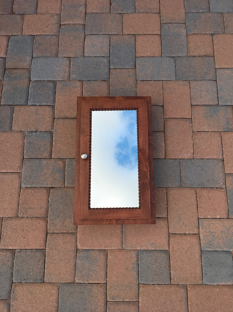 Hand Built Recessed Medicine Cabinet (FREE SHIPPING)