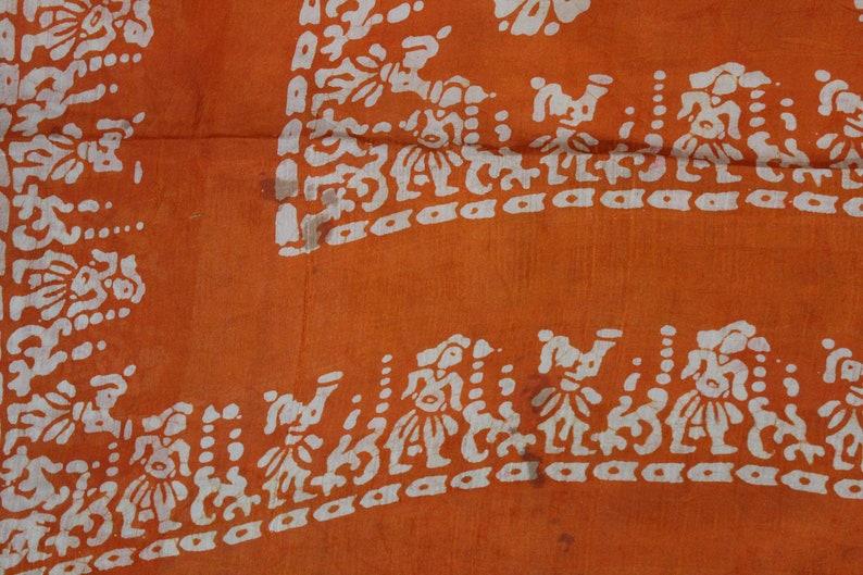 MIX33 100 /% Pure Silk Saree Vintage Indian Fabric Printed  Work Traditional Clothing Sarong Wrap Craft Decor Women Home Dress Sari 5yd