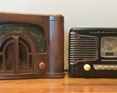 Zenith Vintage Radio and Teac Stereo Radio am fm cd player, Both Working
