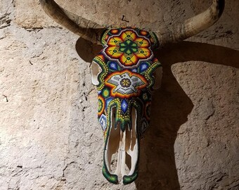 bull head huichol