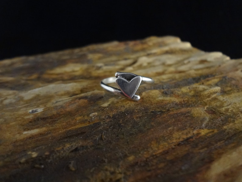 Sweet and Simple One of a Kind Hand Made Sterling Silver and image 0