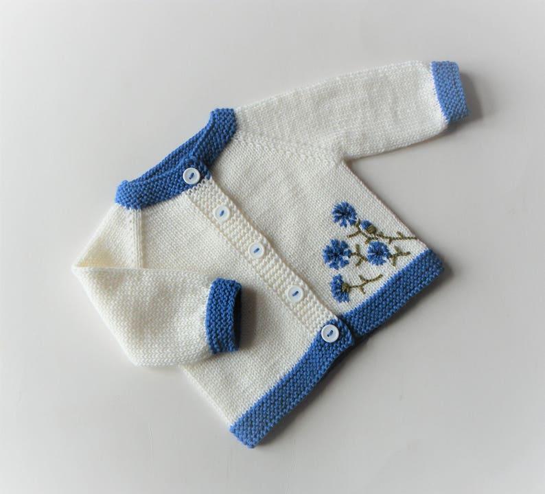 63a1ecdb9 Cornflower embroidery cornflower sweater royal blue baby