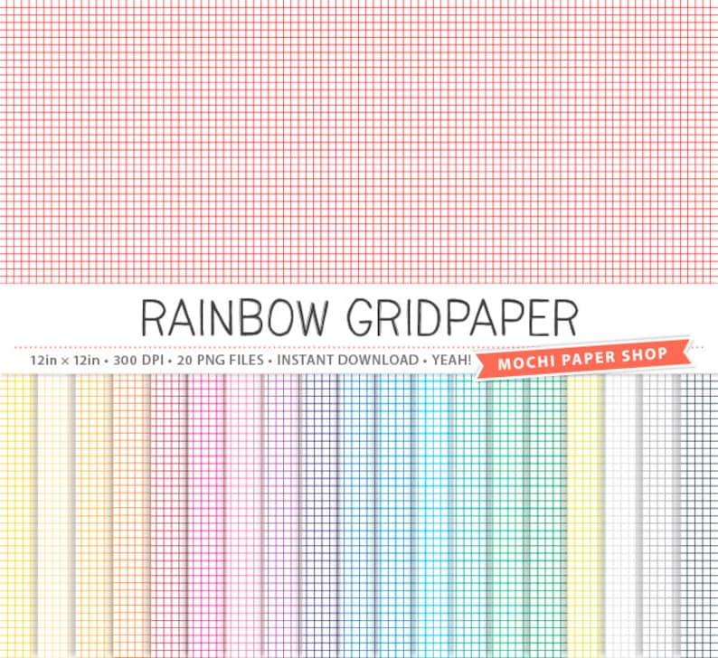 Motifs De Fond Numerique Papier Quadrille Papier Geometrique Etsy