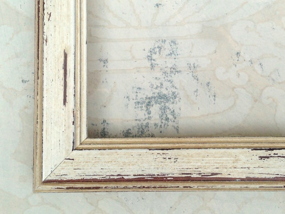 Rustic White Picture Frame- Diploma Frame- Graduation Gift 5x7, 8x8 ...