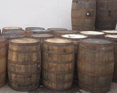 WHISKY OAK BARREL - 40 Gallon Wooden Keg Barrels Cider Pub Table Whisky Cask