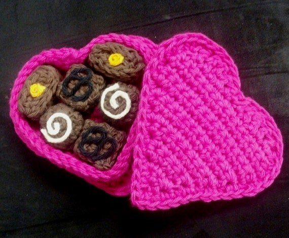 Amigurumi Crochet Pattern Quick And Easy Valentines Day Etsy
