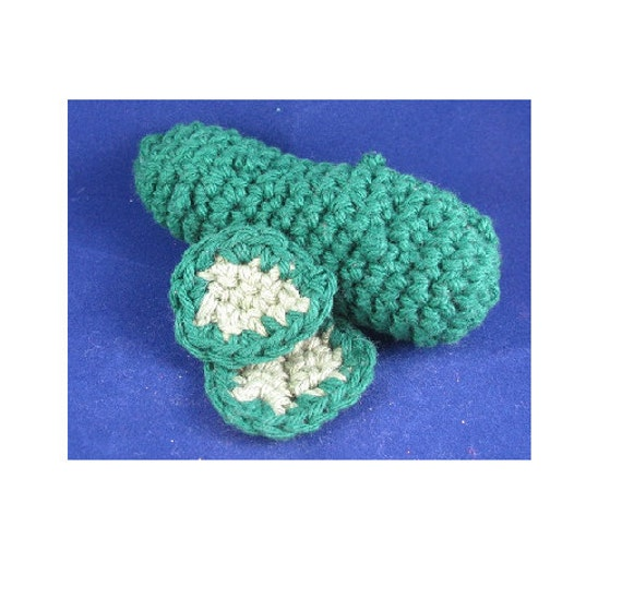 Amigurumi Crochet Pattern Quick And Easy Cute Pickles Etsy