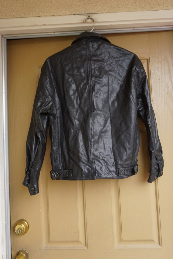 Mens COACH black coat jacket size XS Extra Small … - image 10