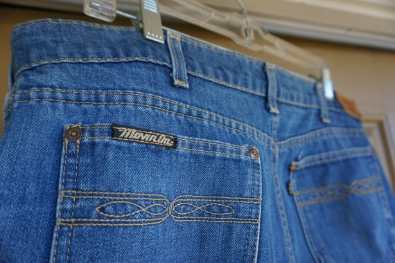 Levis movin on 1970s women's levis high waisted wi