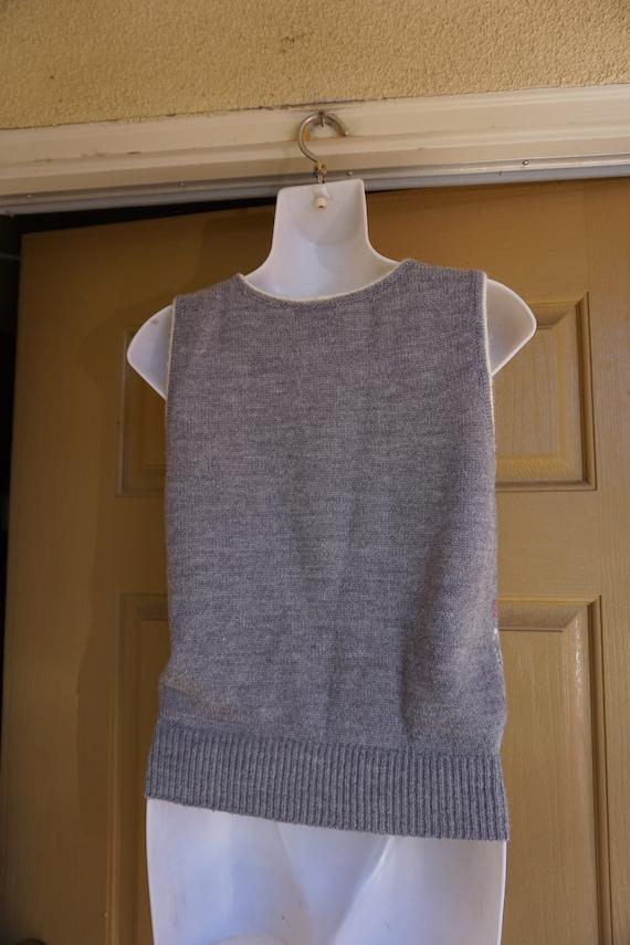 ABCs vintage sweater vest - image 7