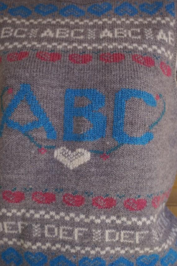 ABCs vintage sweater vest - image 5