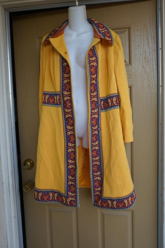 Vintage Lilli Ann Knit  jacket designer coat / Lar