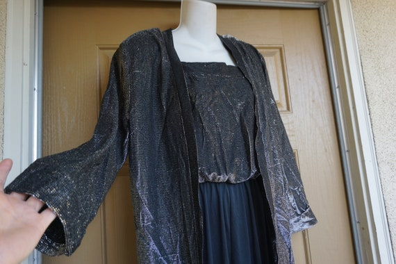 Romper with matching jacket  Black large 13/14 198