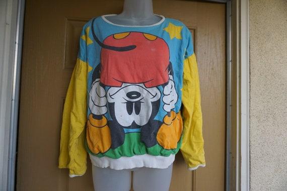 Mickey and Minnie Mouse sweatshirt reversible swea