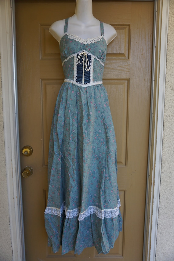 Gunne sax size 11 like new large prairie lace max… - image 3
