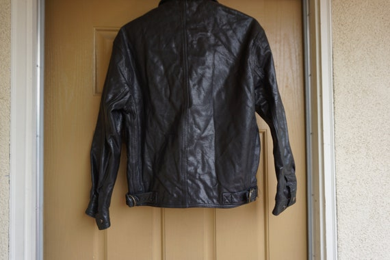 Mens COACH black coat jacket size XS Extra Small … - image 7