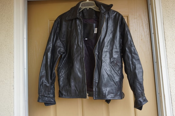 Mens COACH black coat jacket size XS Extra Small h