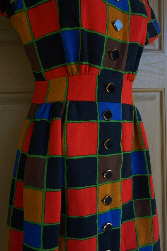 ARNOLD SCAASI desiger dress Vintage heavy knit dr… - image 6