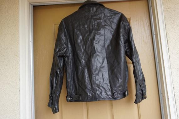 Mens COACH black coat jacket size XS Extra Small … - image 9