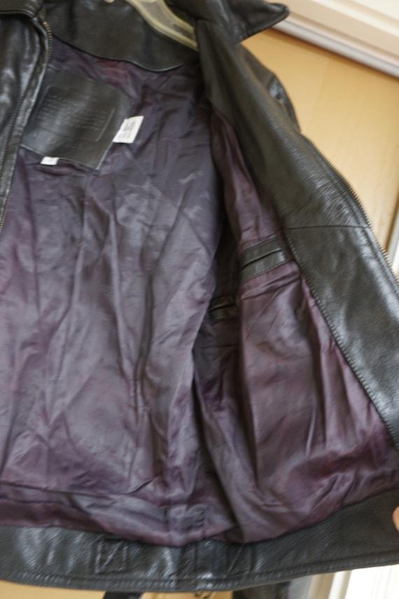 Mens COACH black coat jacket size XS Extra Small … - image 3