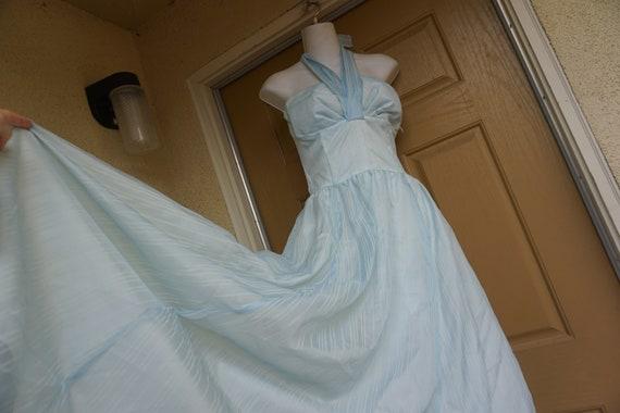 Gunne sax halter 1980s ballgown size 11 dress