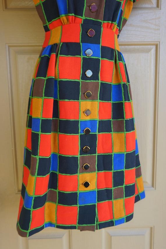 ARNOLD SCAASI desiger dress Vintage heavy knit dr… - image 7