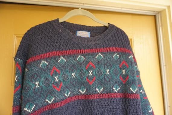 PENDLETON Western Wear 100% Virgin Wool Sweater th