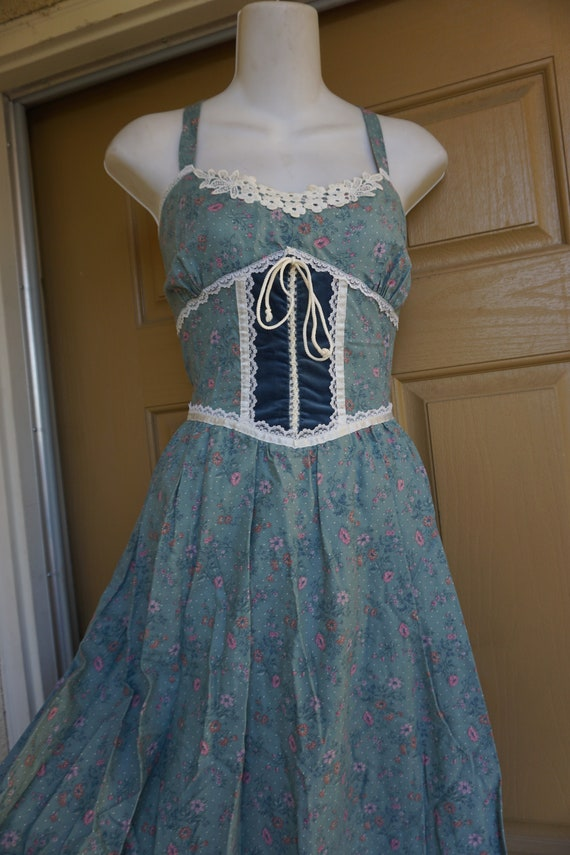 Gunne sax size 11 like new large prairie lace max… - image 5