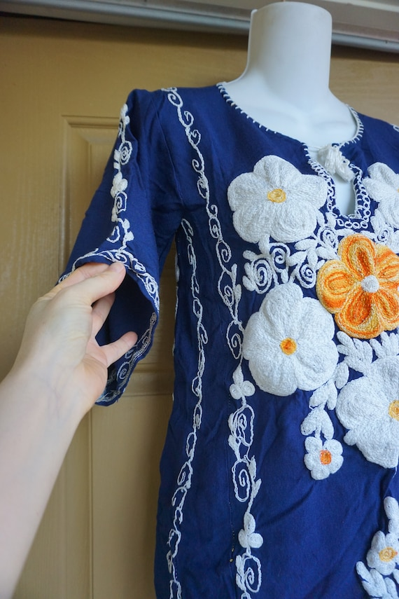 70s Vintage Pucci Floral Blouse Size Small